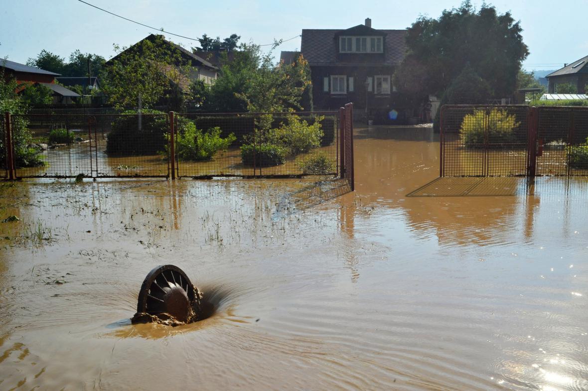 Lokální záplavy na Plzeňsku