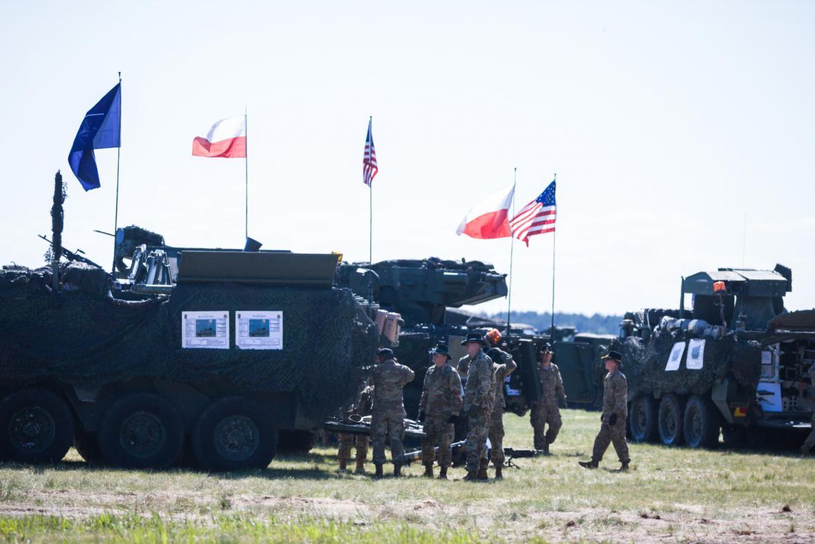 V Polsku se bude trénovat mimo jiné přesun jednotek NATO do Pobaltí