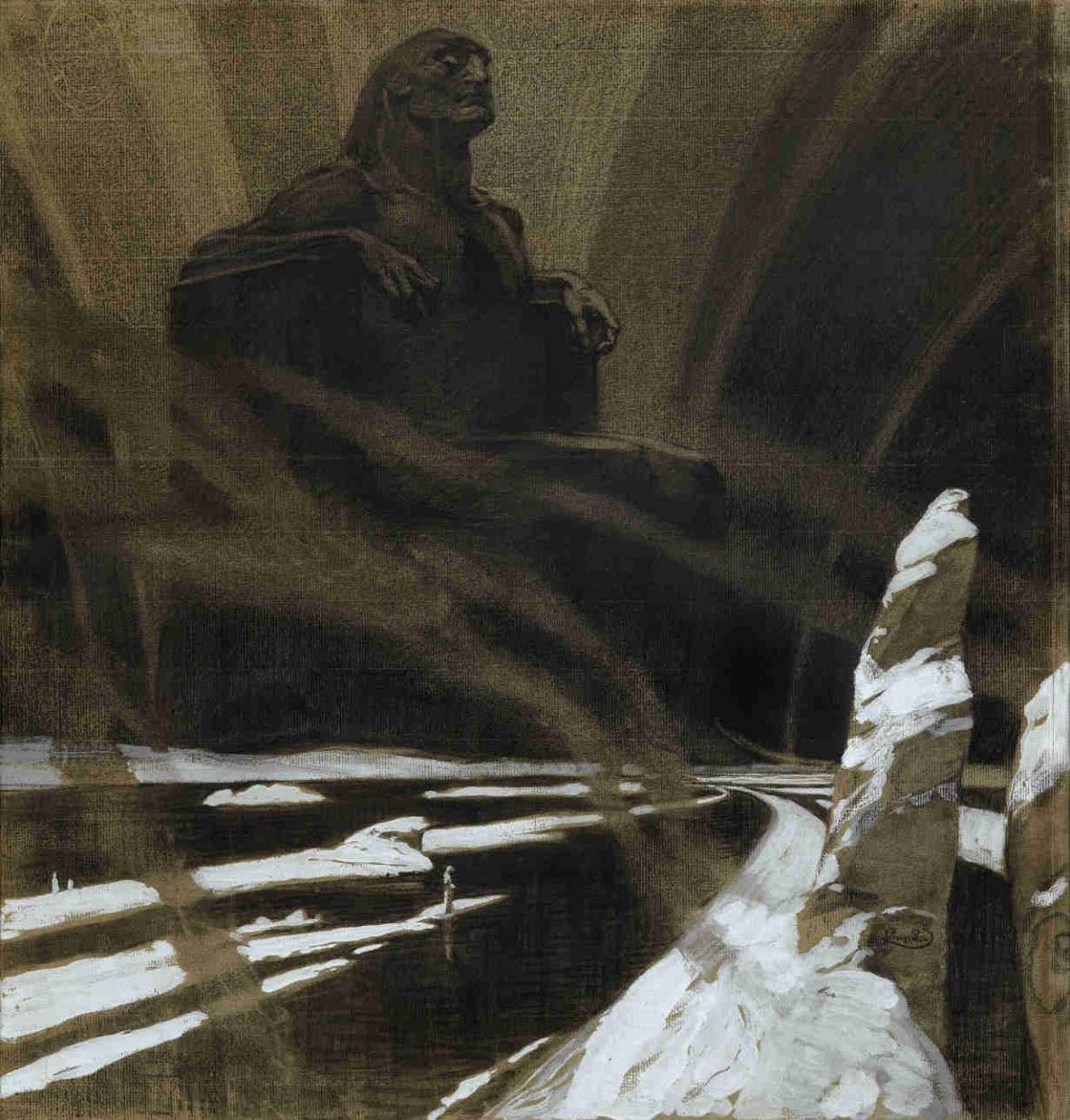 František Kupka / Vzdor (Černý idol), 1902