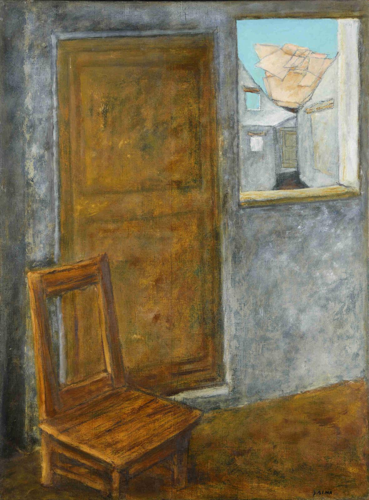 Josef Šíma / Interiér, 1950