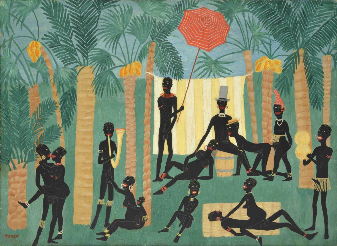 Toyen / Ráj černochů, 1925