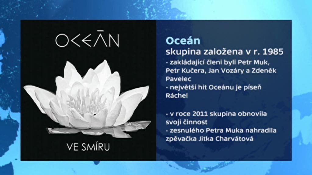Vizitka skupiny Oceán