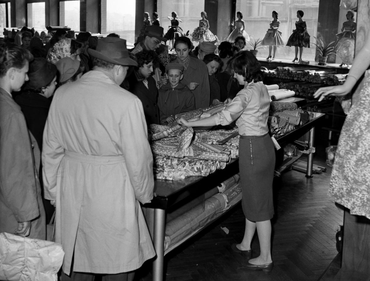 Obchodní dům Ostravica-Textilia (1960)