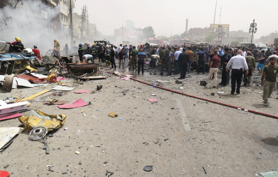 Útok v Bagdádu