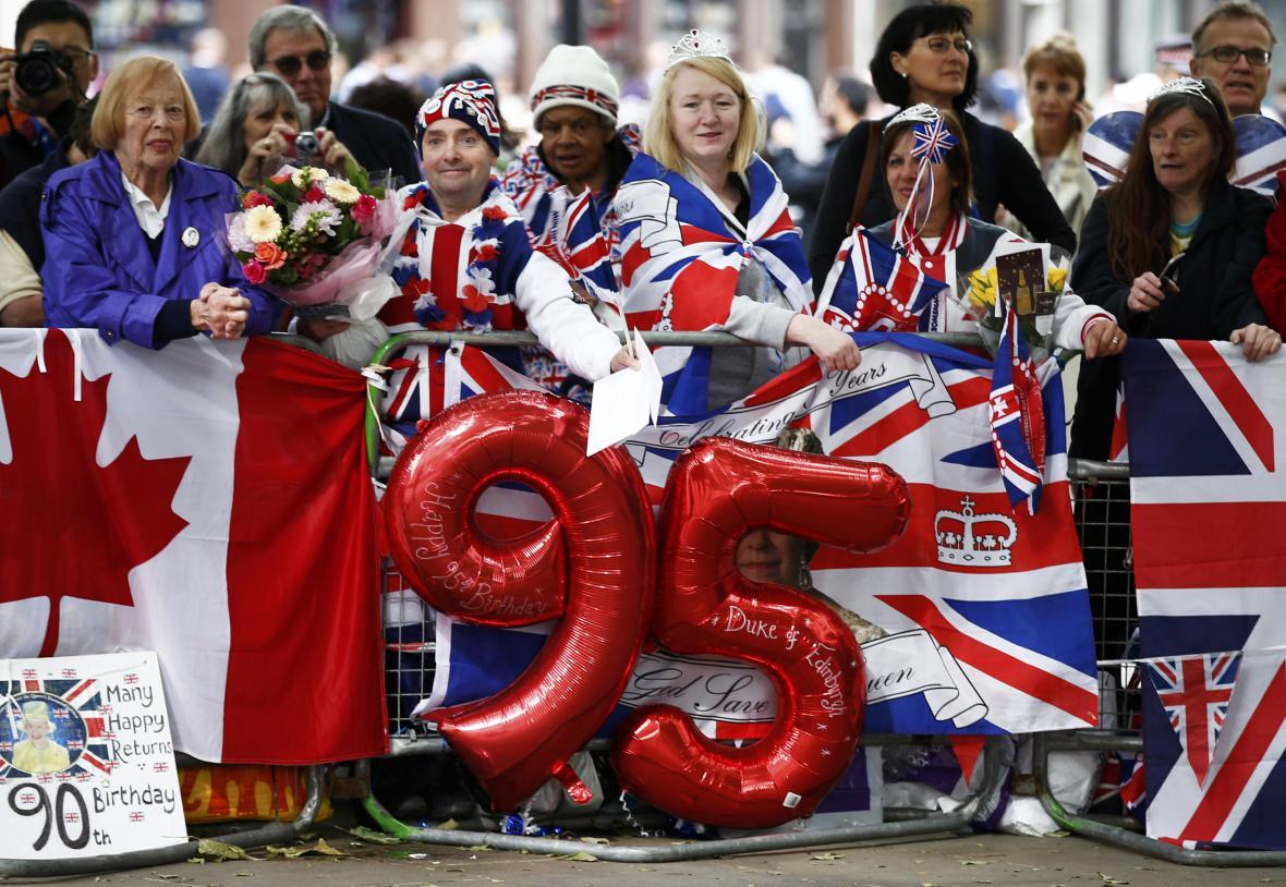 Britové pamatují i na pětadevadesátiny prince Filipa