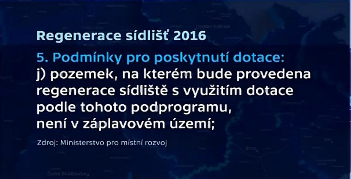 Regenerace sídlišť 2016