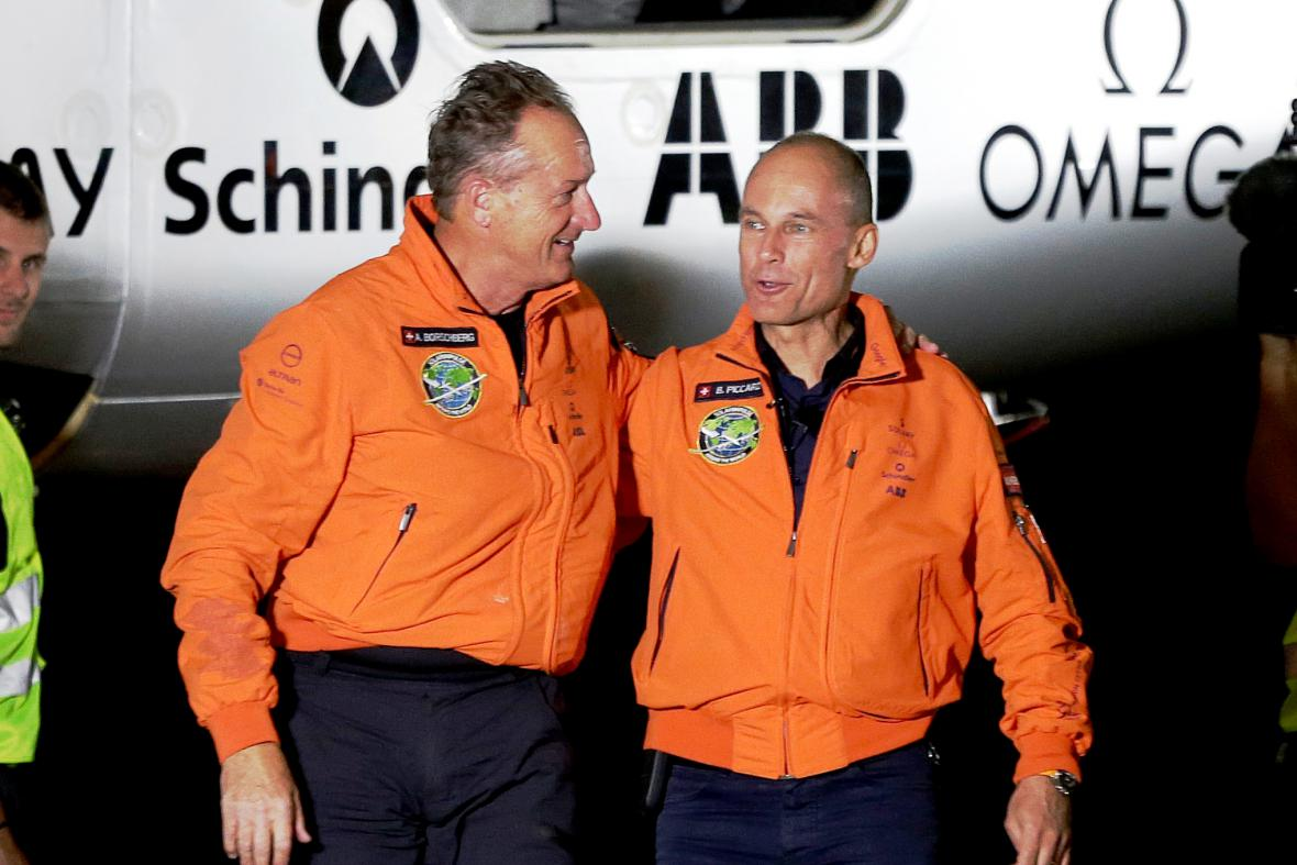 André Borschberg a Bertrand Piccard