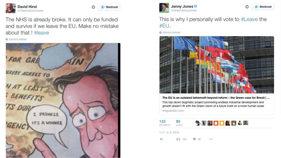 Brexit na Twitteru