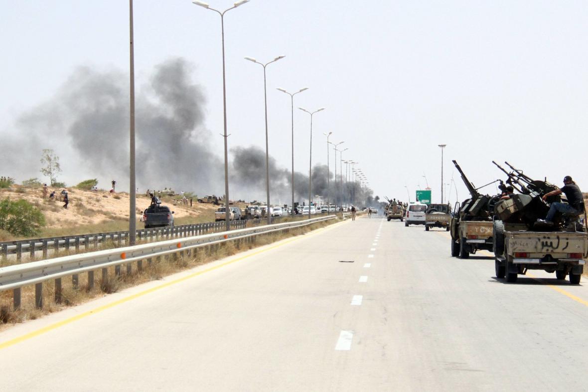 Libyjské jednotky míří do města Syrta