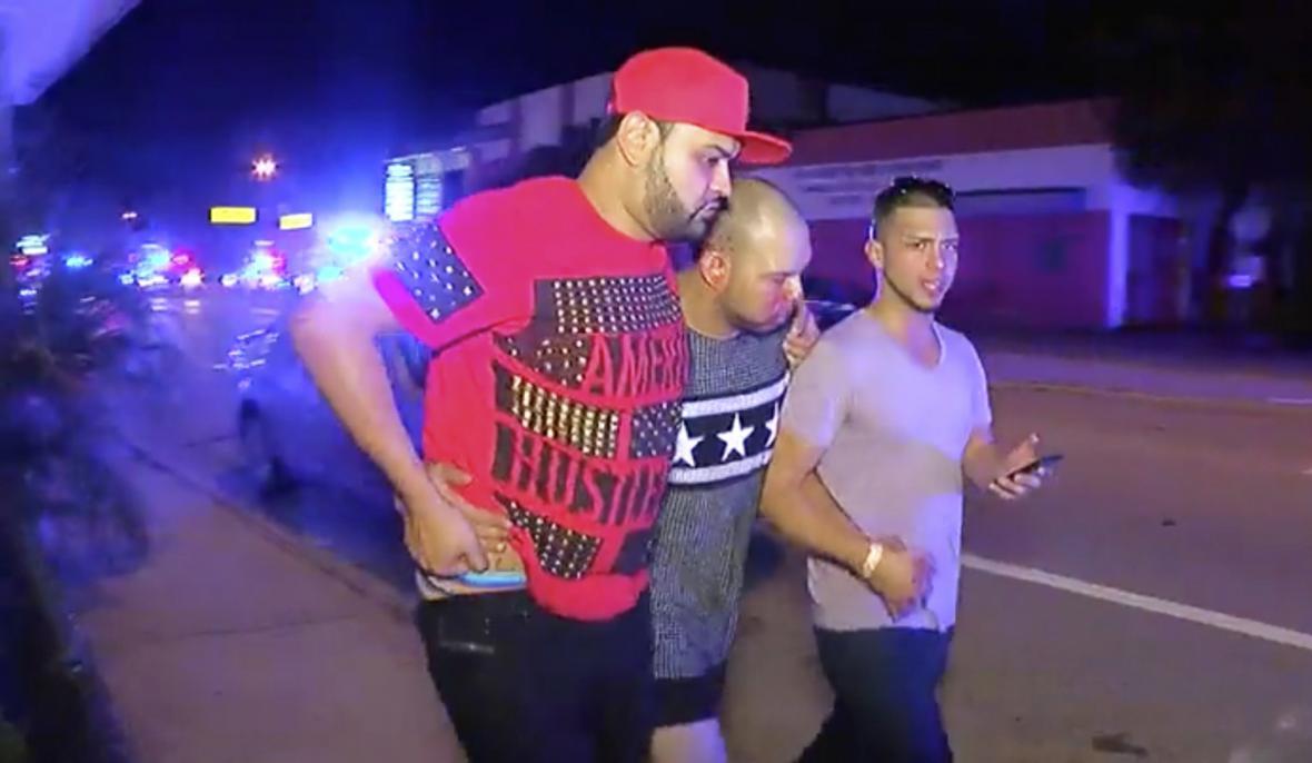 Muž zraněný během střelby v Orlandu