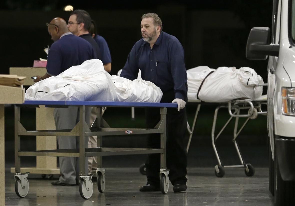 Oběti útočníka z orlandského klubu