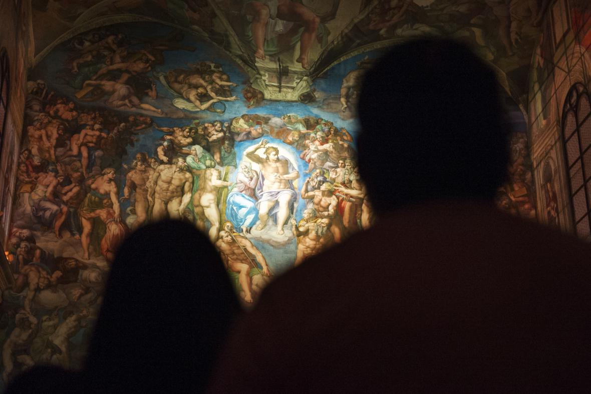 Mexico City vystavělo repliku Sixtinské kaple