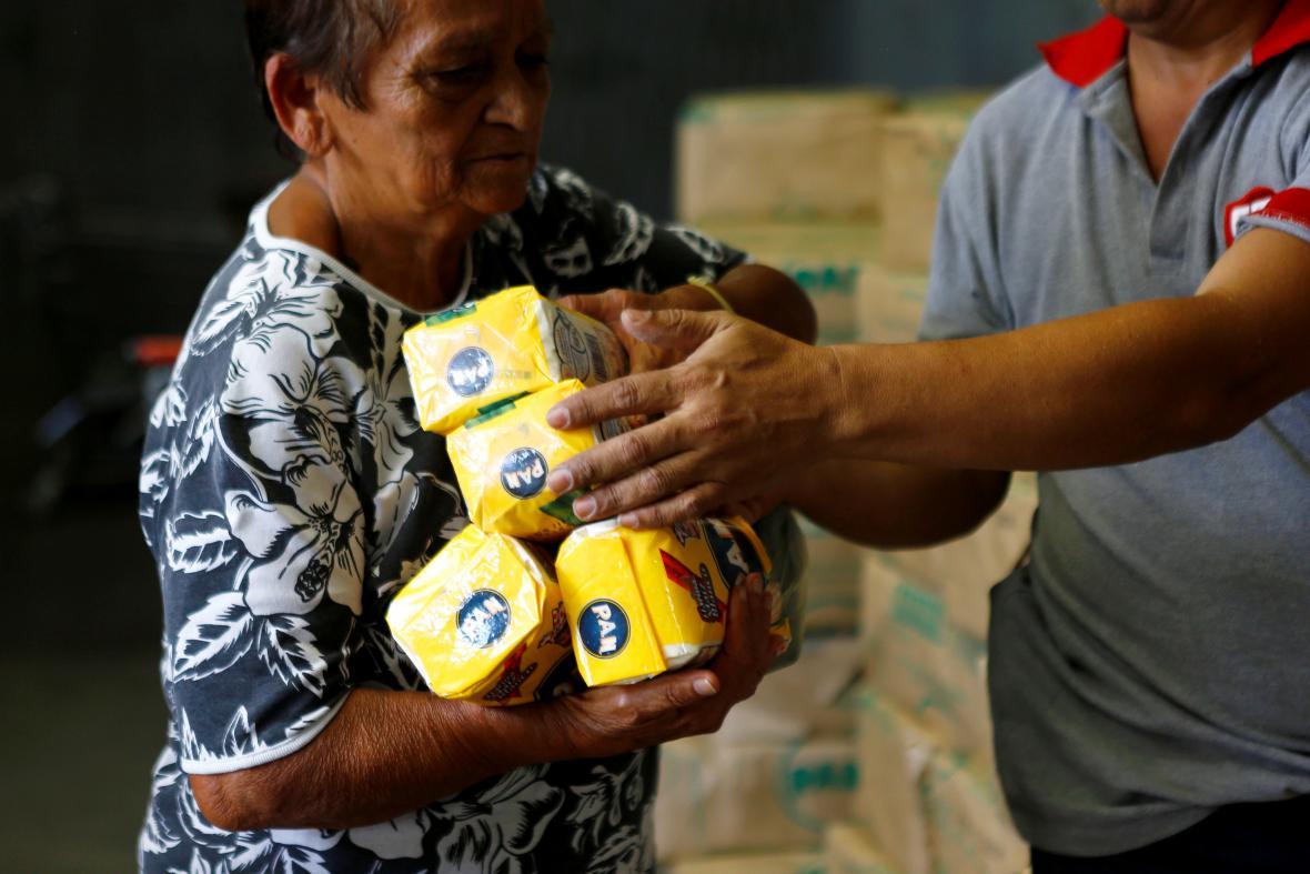 Potravinová krize ve Venezuele