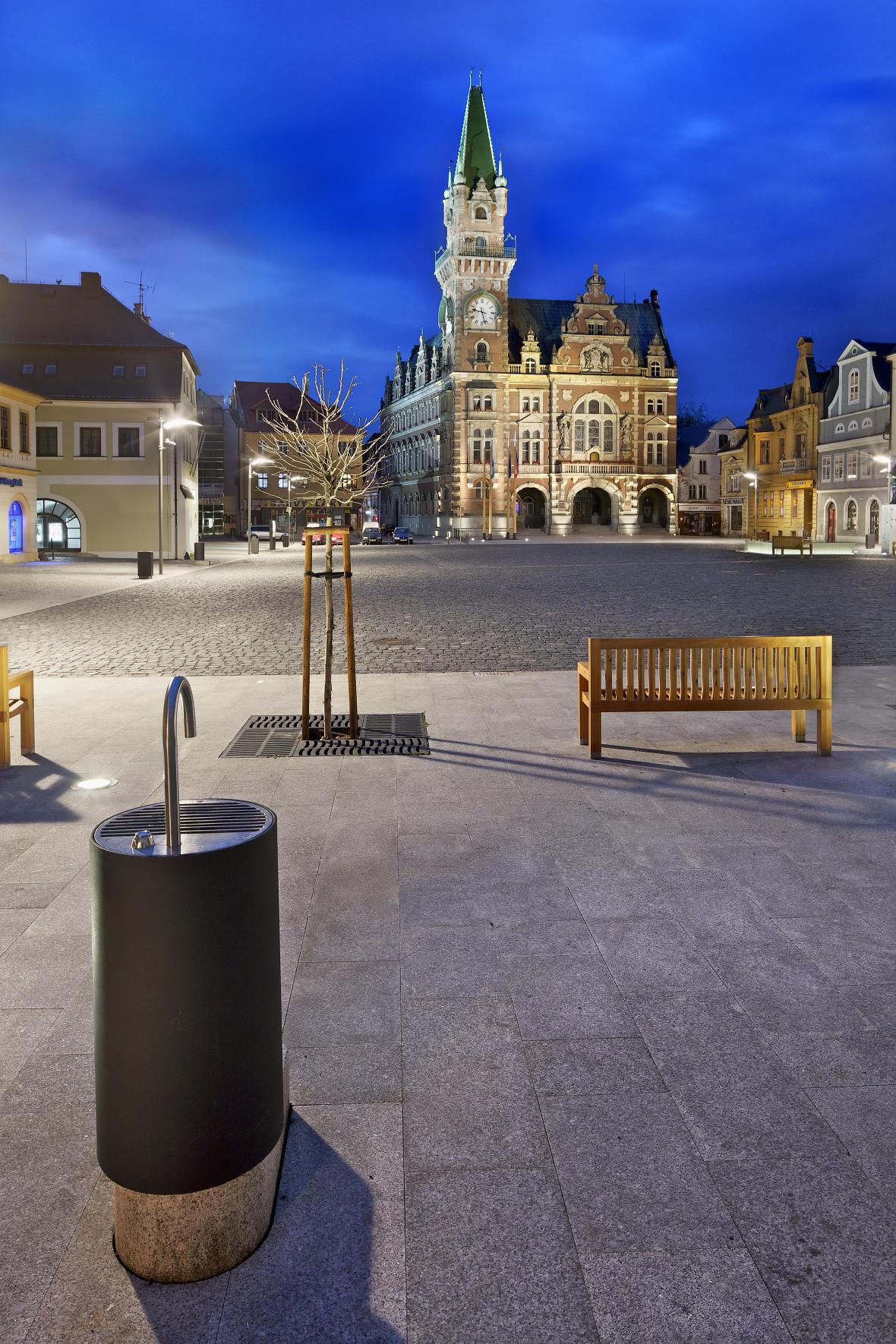Rekonstrukce náměstí ve Frýdlantu