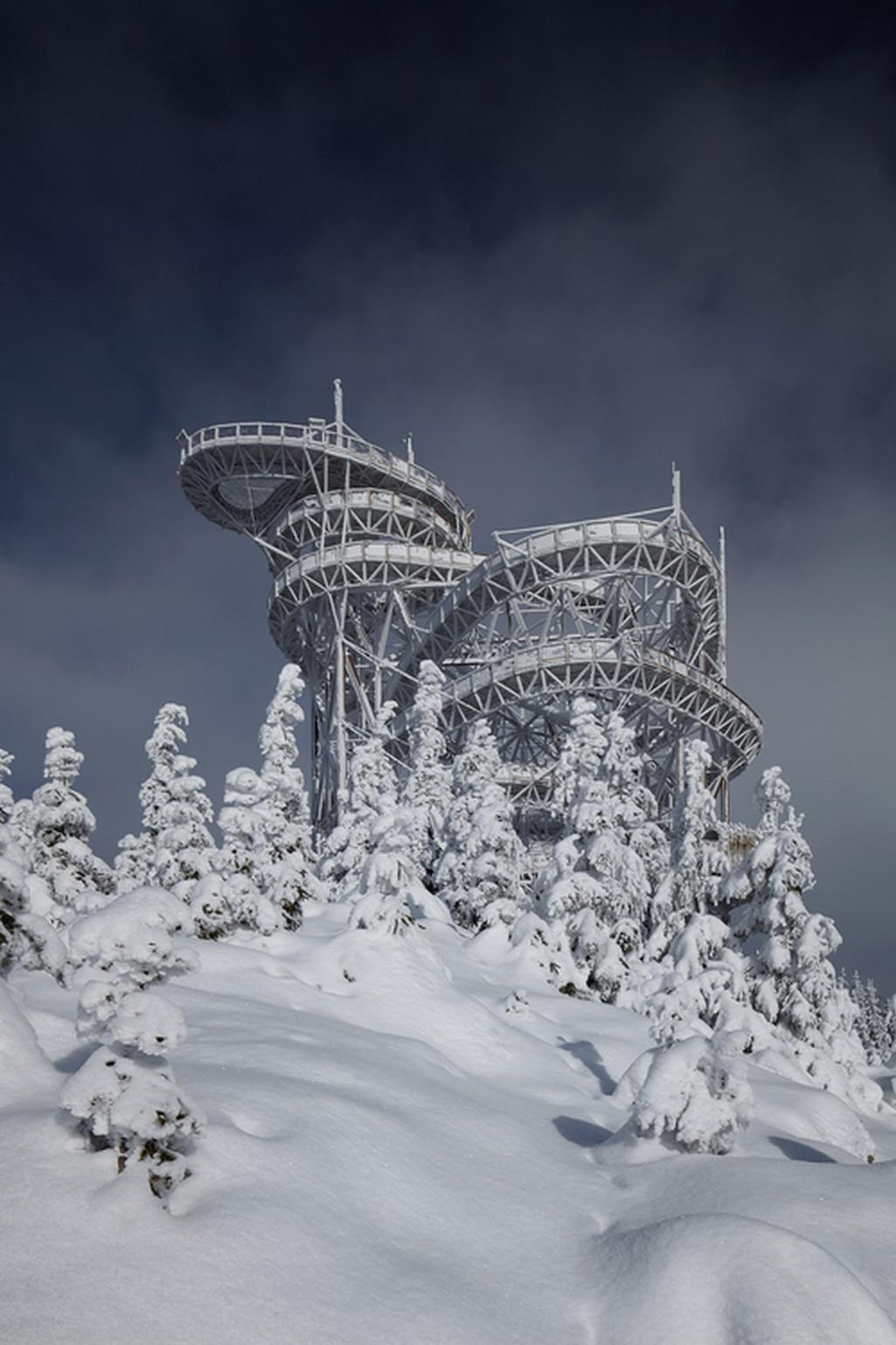 Stezka v oblacích, Dolní Morava