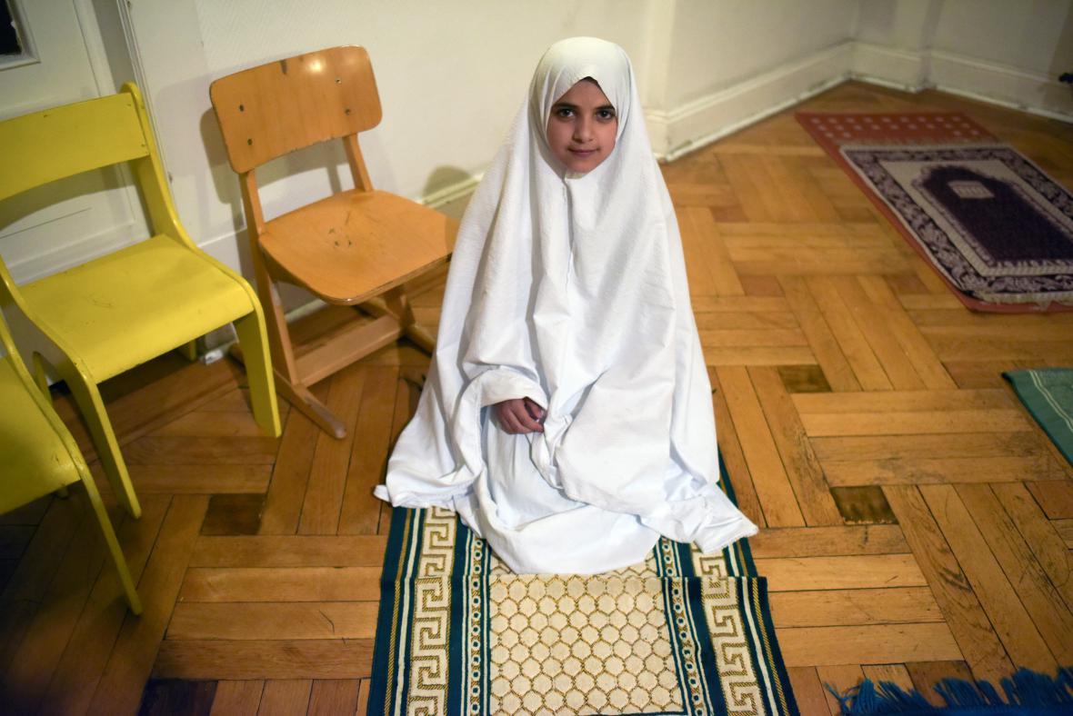 Syrská migrantka