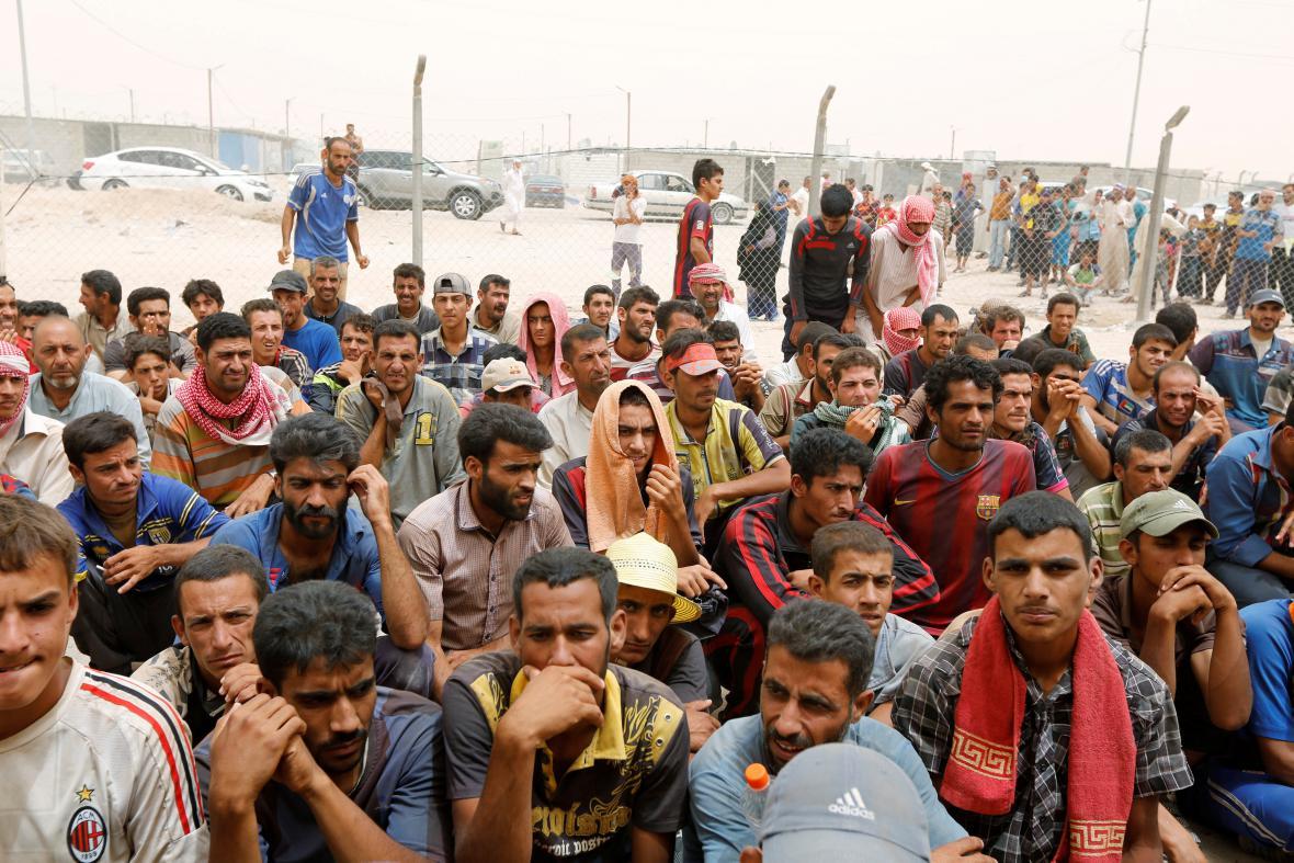 Uprchlíci z města Fallúdža