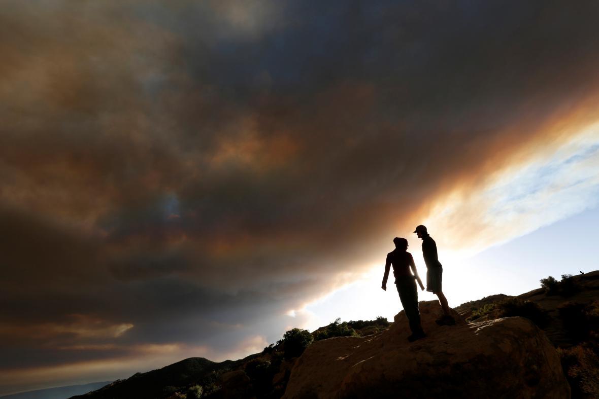 Hořící Santa Barbara