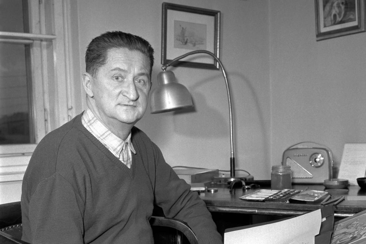Malíř a spisovatel Ondřej Sekora