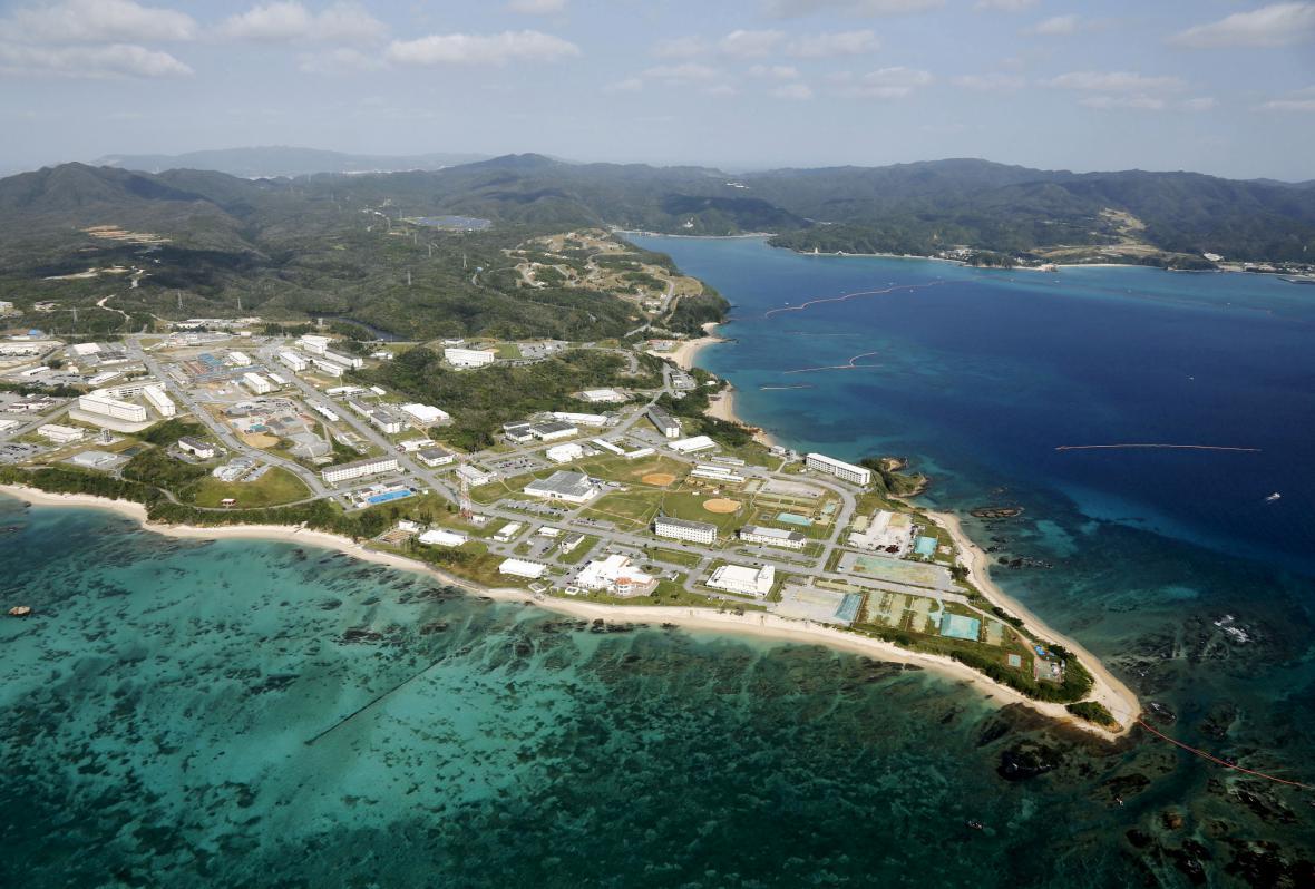 Americká základna na Okinawě