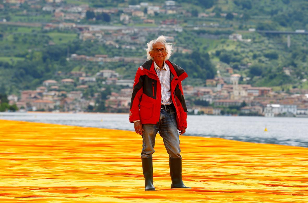 Italský umělec Christo