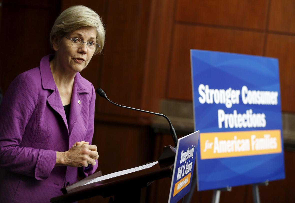 Senátorka Elizabeth Warrenová
