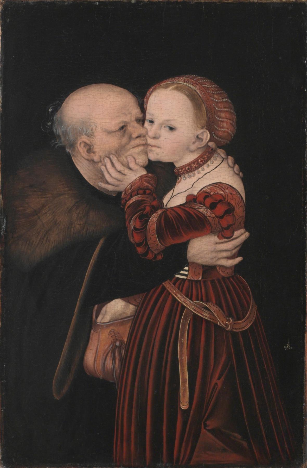 Lucas Cranach starší / Starý  pošetilec