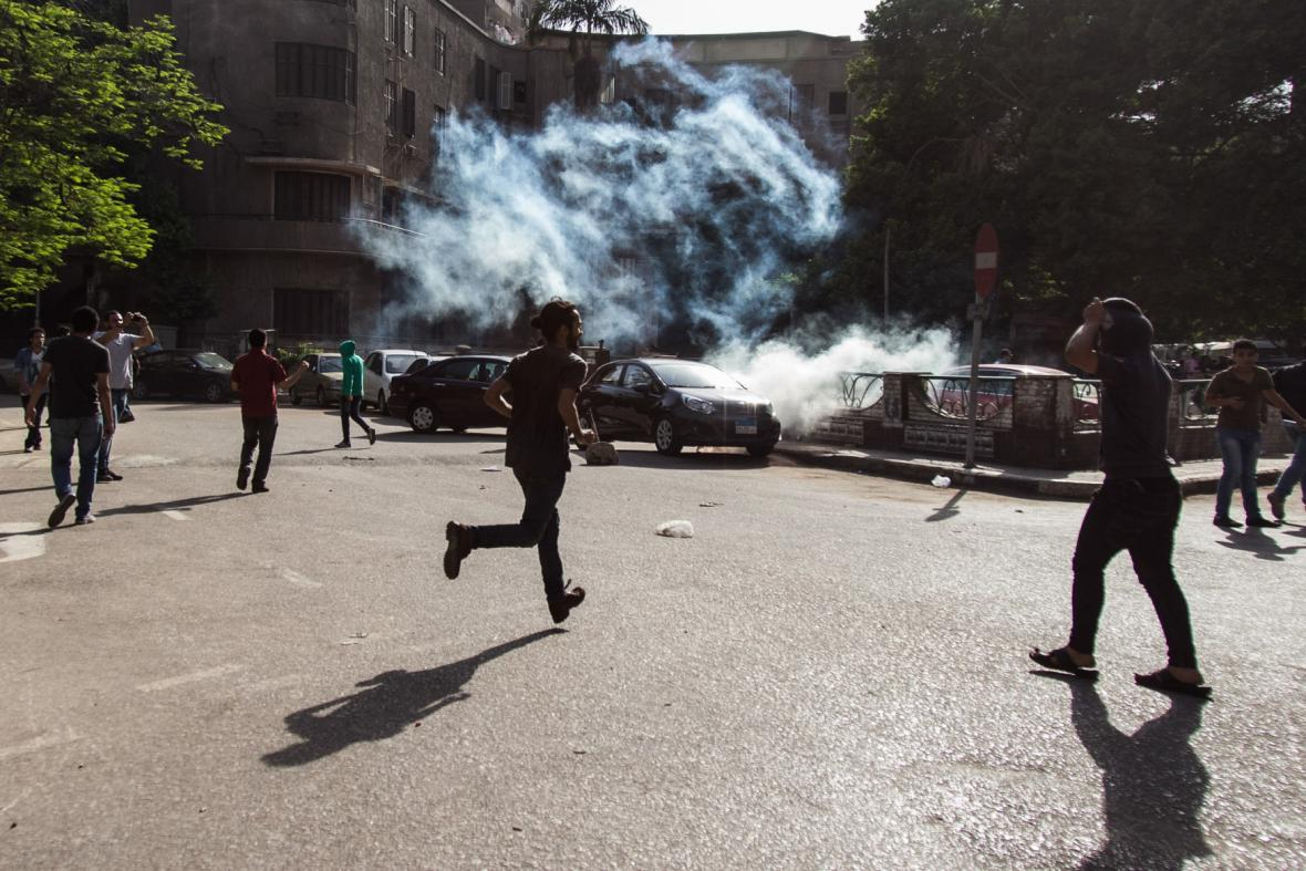 Protest v Egyptě