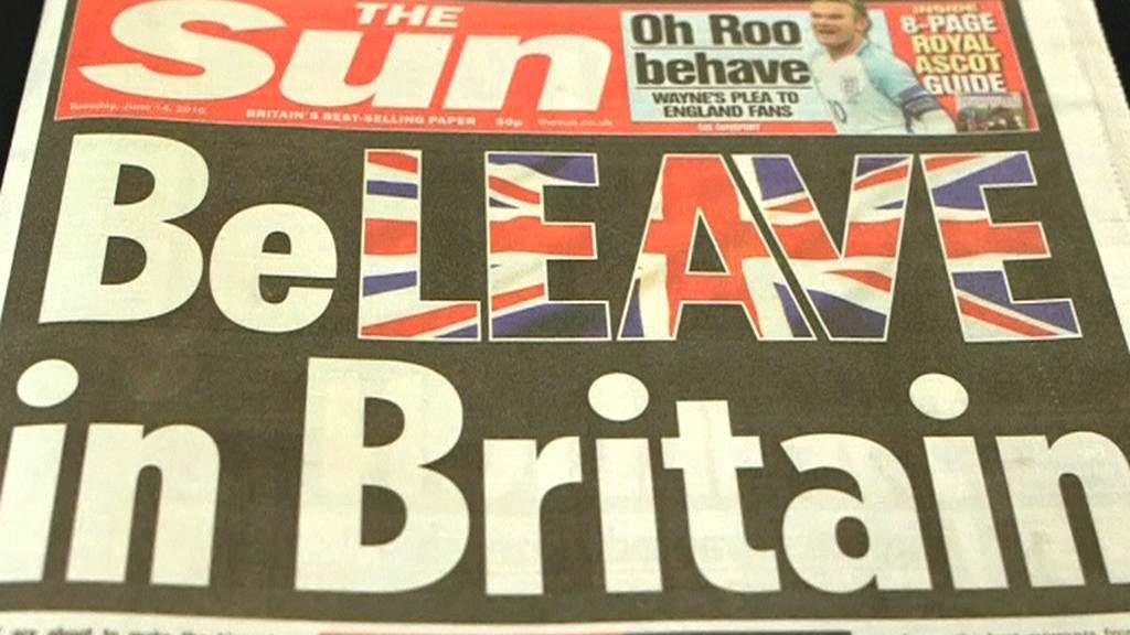The Sun o brexitu
