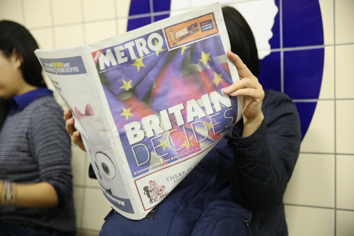 Brexit hlavním tématem světových médií