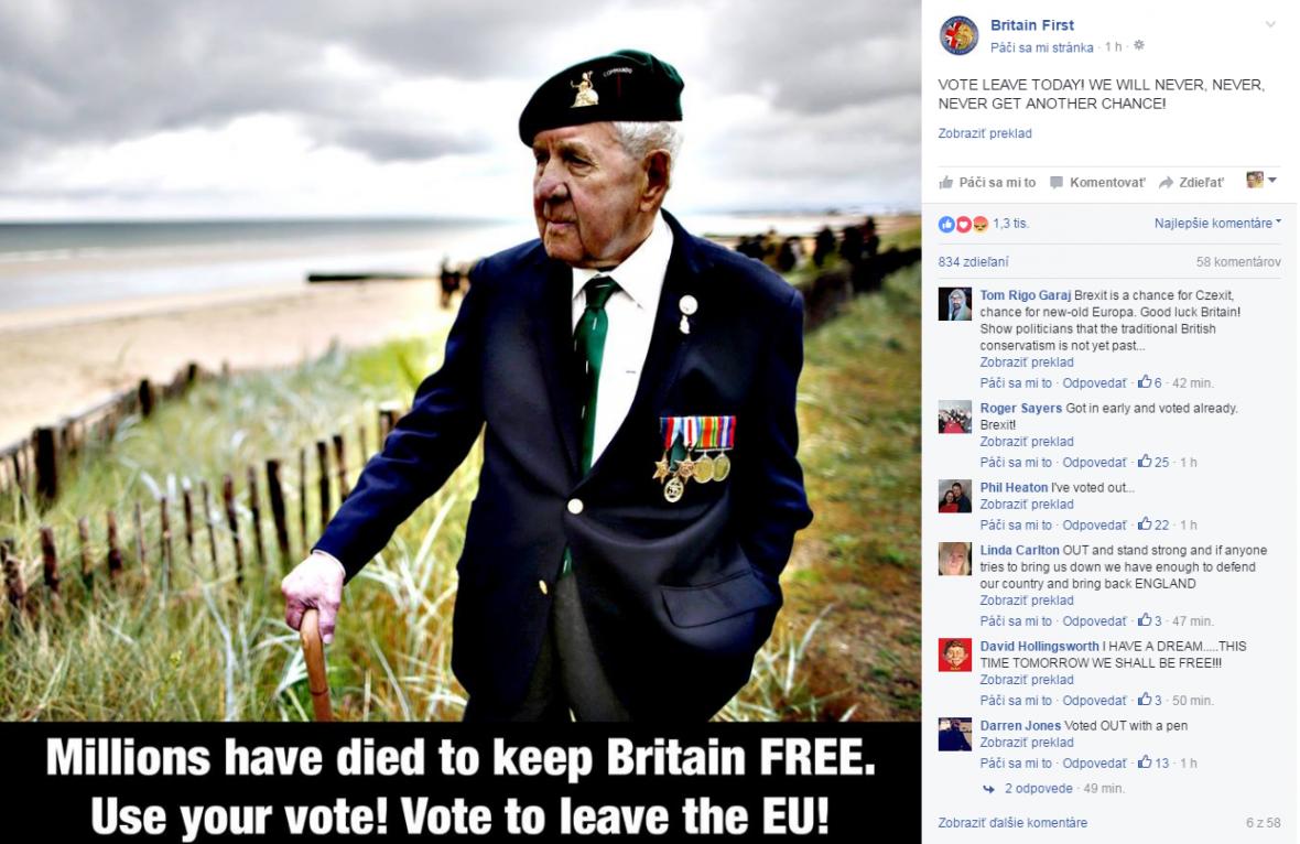 Britští vojáci chtějí vystoupit z EU