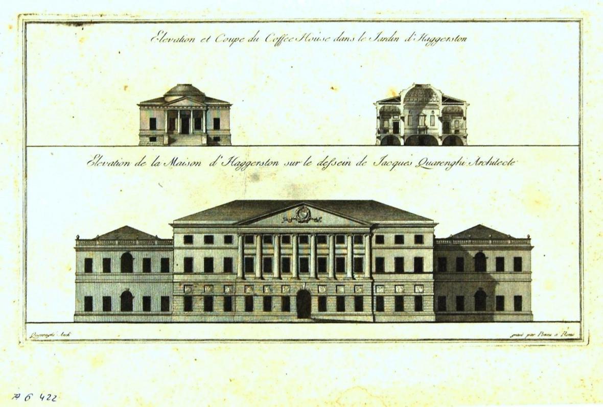 Giacomo Quarenghi: dům pro Lorda Haggerstona