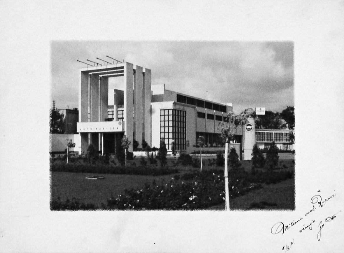 Karel Řepa: Výstavní pavilon v Pardubicích, 1931