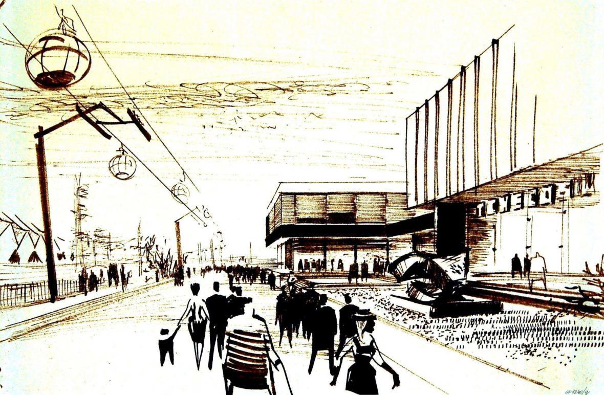 Miroslav Řepa, Alexandr Pýcha: Československý pavilon na Světové výstavě EXPO '67 v Montrealu