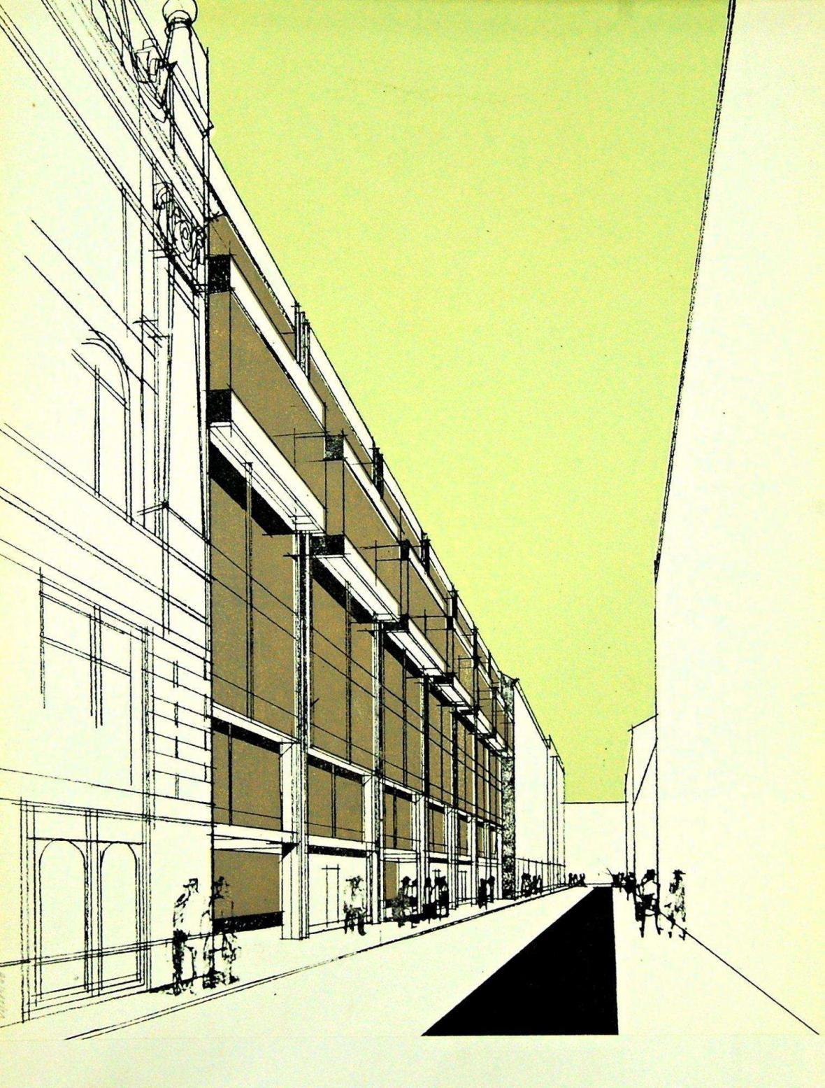 Zdeněk Kuna a další: Budova společnosti Omnipol v Praze, 1979