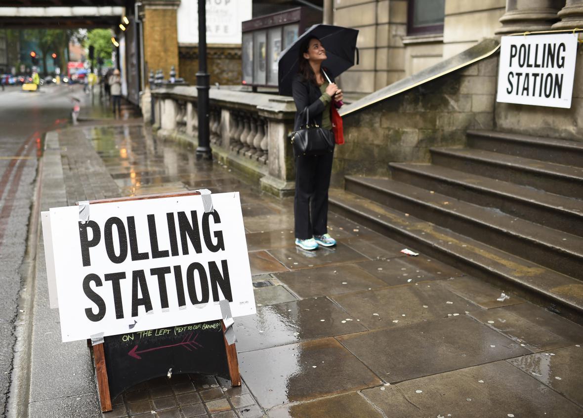 Počasí ovlivnilo referendum v Británii