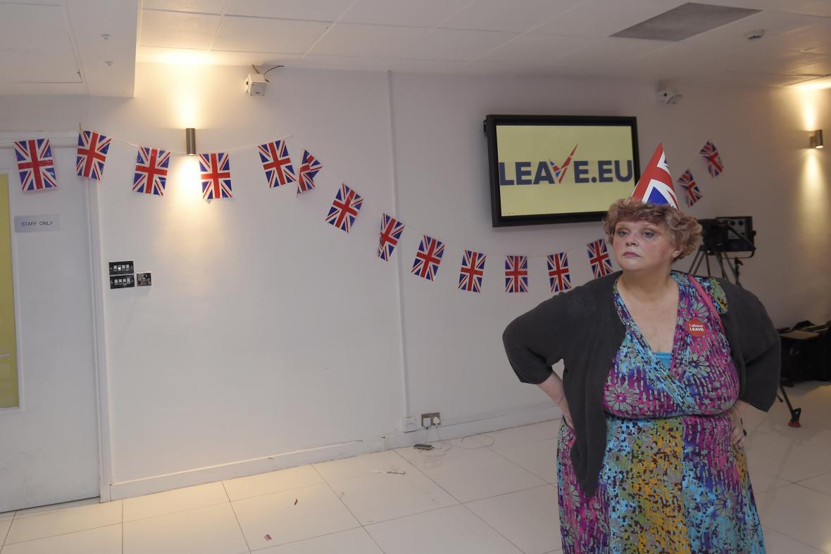 Zastánce odchodu z EU