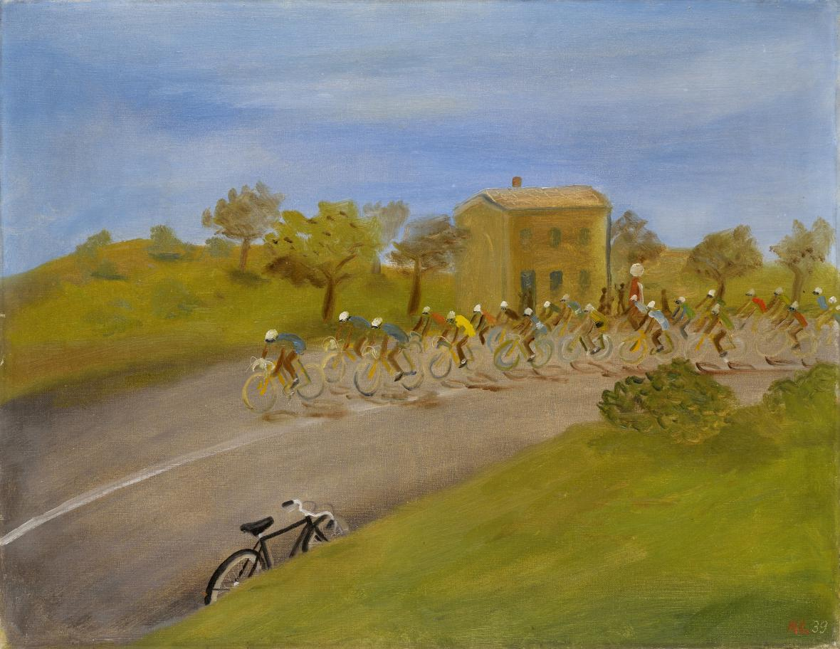 Kamil Lhoták / Tour de France, 1939