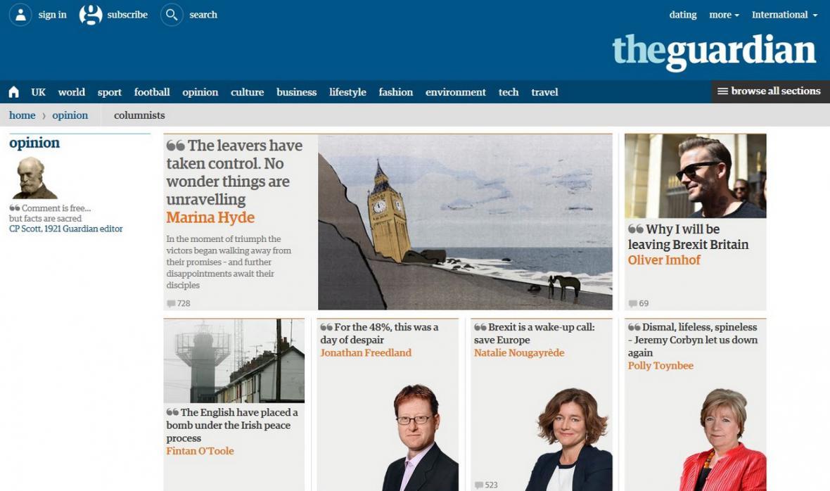 Guardian o brexitu