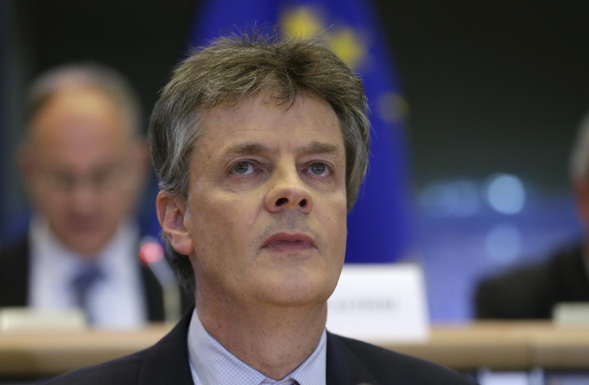 Britský eurokomisař Jonathan Hill