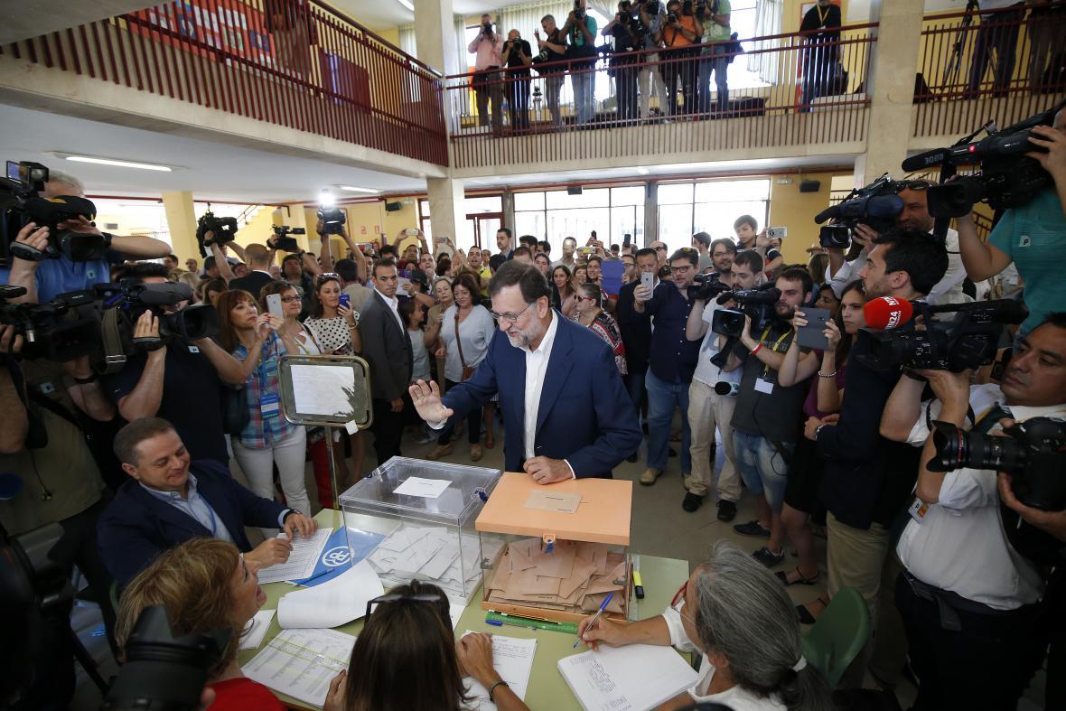 Lídr lidovců Mariano Rajoy