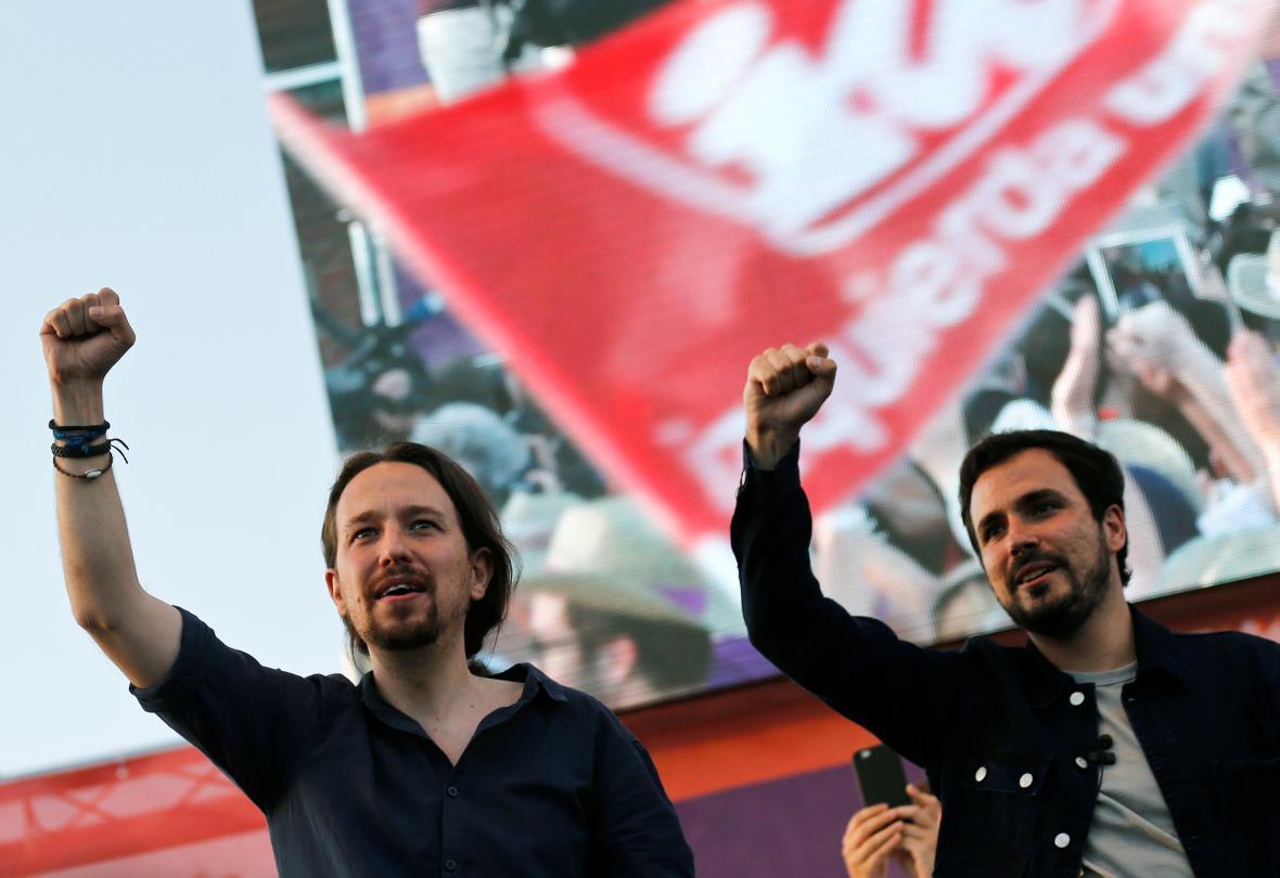 Vedení levicové strany Podemos