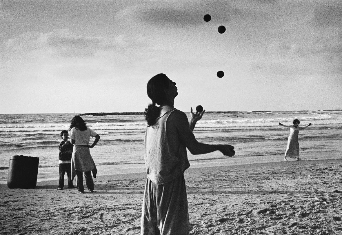 Fotografie Karla Cudlína, Tel Aviv, 1997