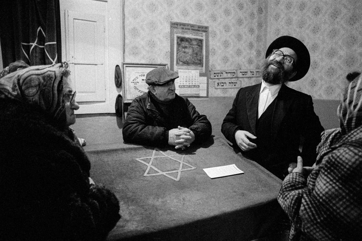 Fotografie Karla Cudlína, Ukrajina, 1994