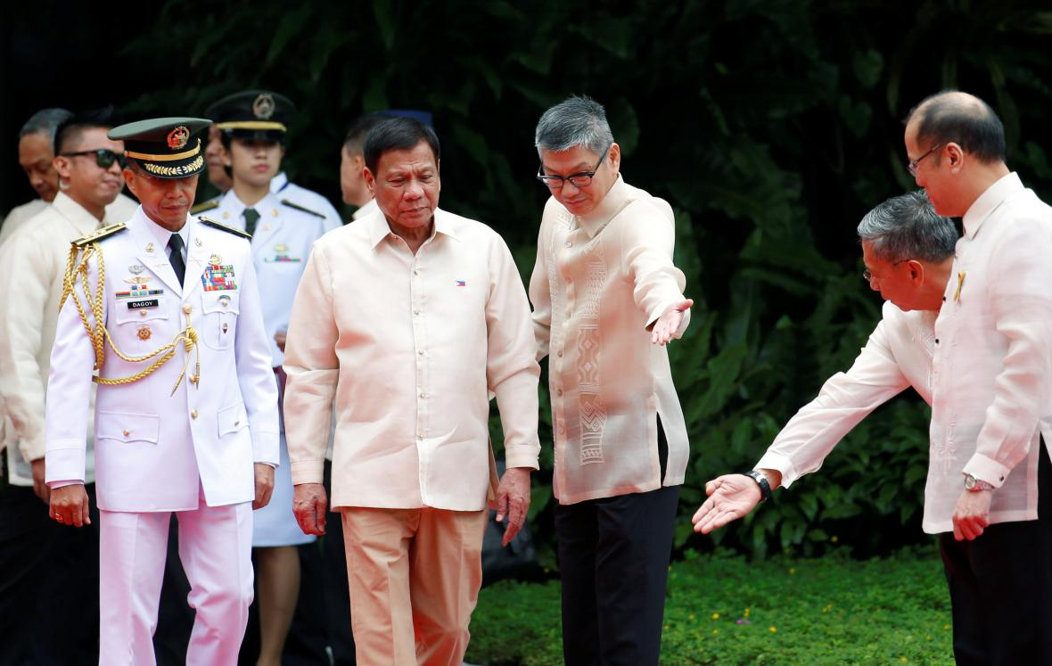 Inaugurace prezidenta Duterteho