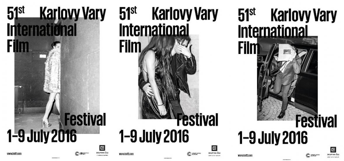 Plakáty MFF Karlovy Vary 2016