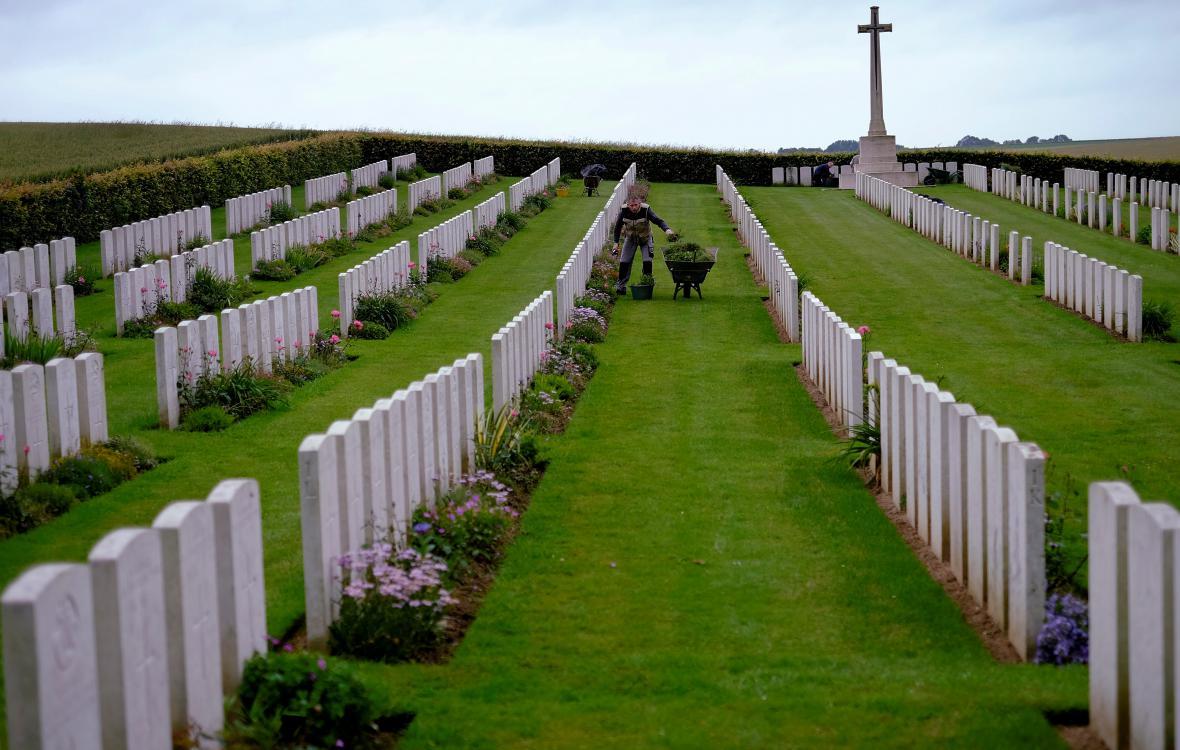 Hřbitov na bojišti