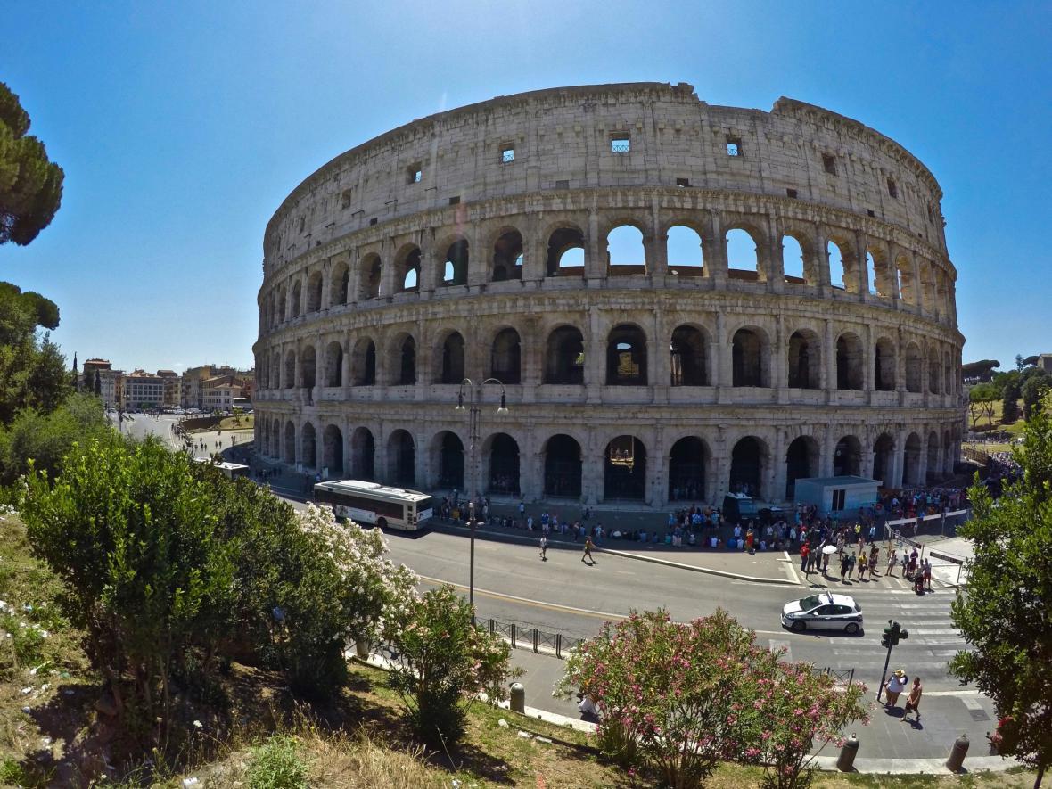 Vyčištěné Koloseum