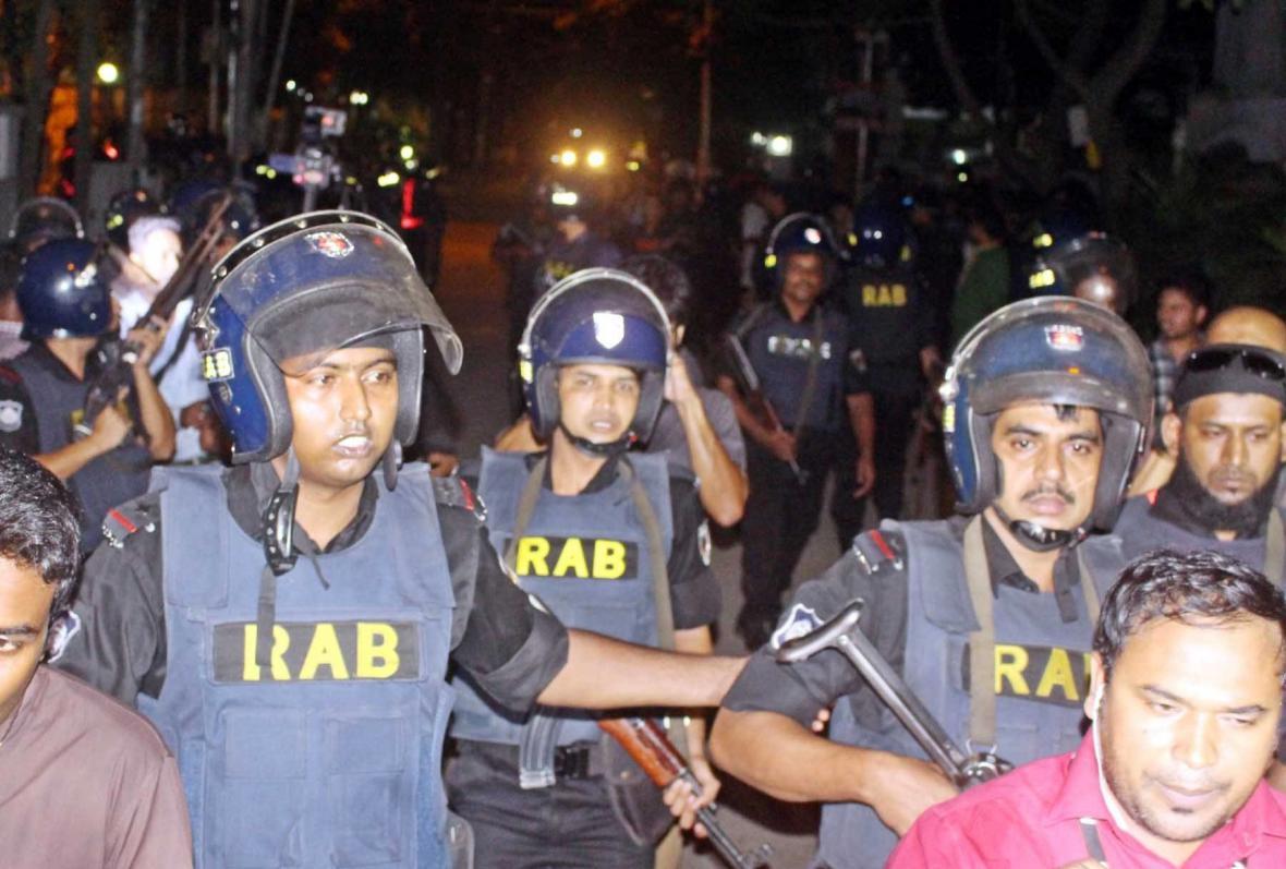 Bangladéšská polici