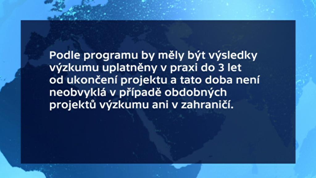Vyjádření TA ČR